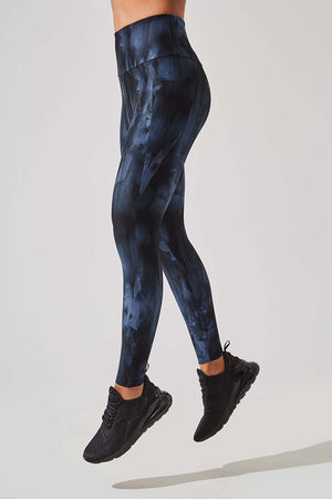 Score High Waist Recycled Navy 7/8 Legging - MPG Sport