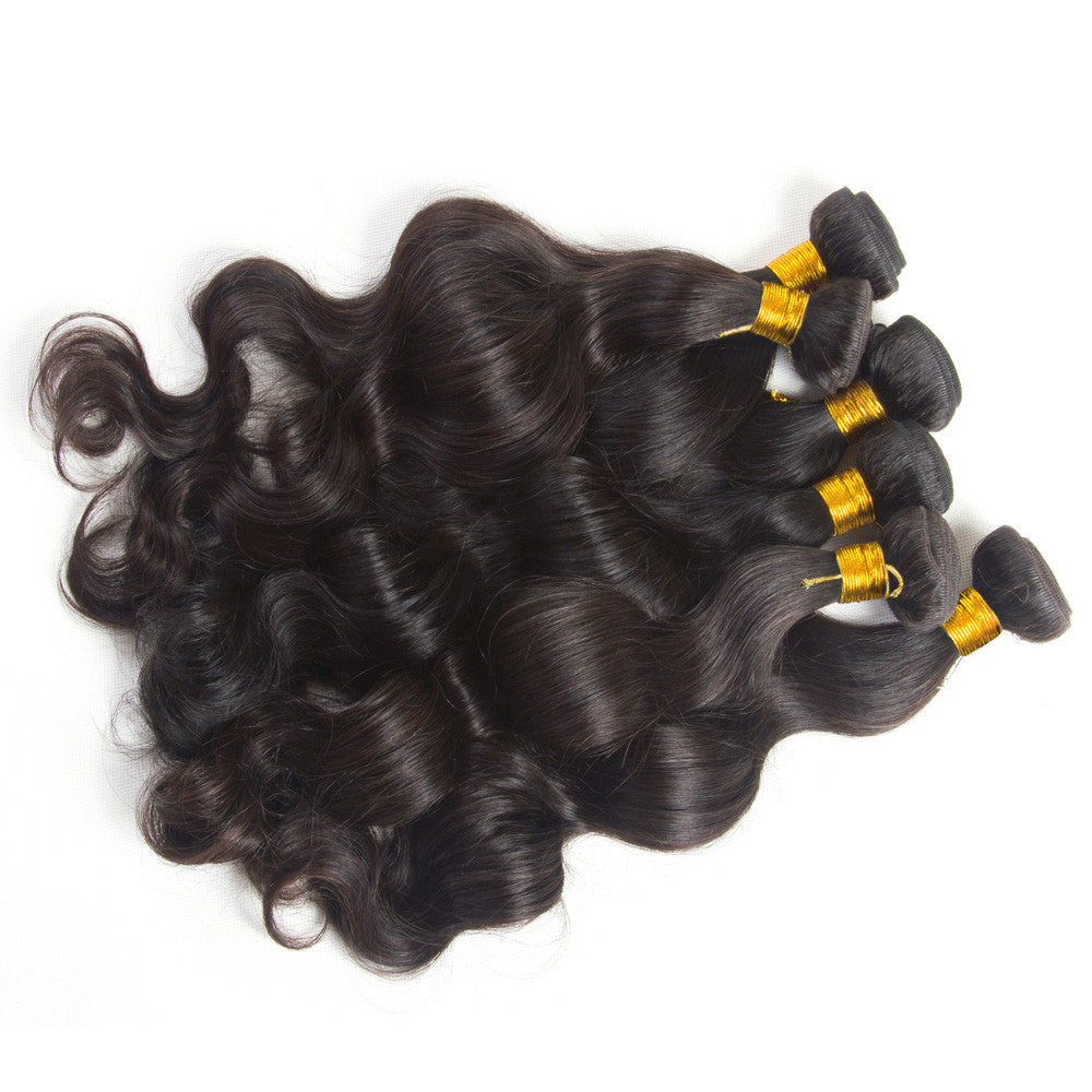 3 Bundles brazilian peruvian virgin human hair unprocessed body wave Karida hair