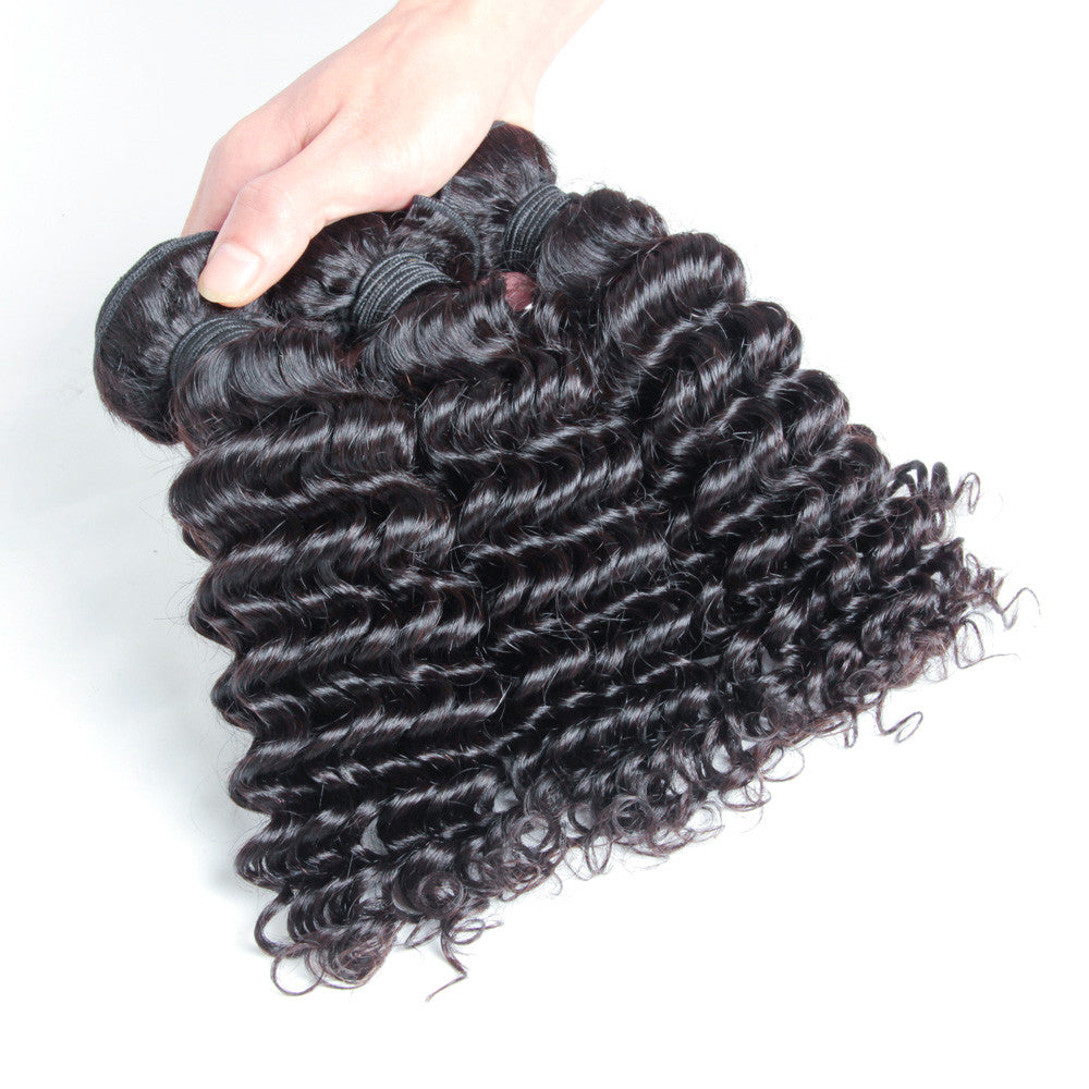 3Bundles wholesale virgin malaysian hair deep wave new arrival 100% virgin
