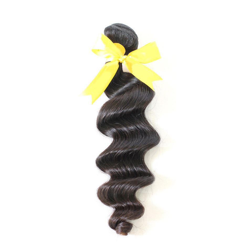 Wholesale Loose wave cheap virgin hair weave bundles brazilian human hair