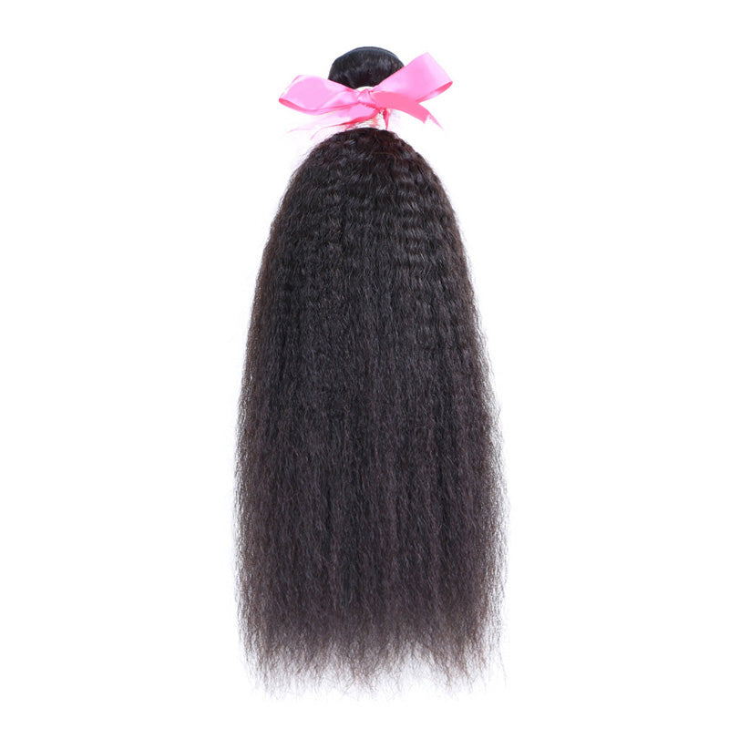 Kinky straight human hair extension wholesale virgin hair bundles Karida product