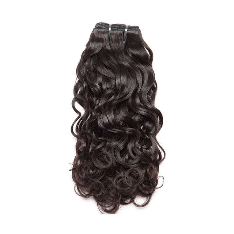 New arrival texture water wave wholesale human virgin hair weaving unprocessed