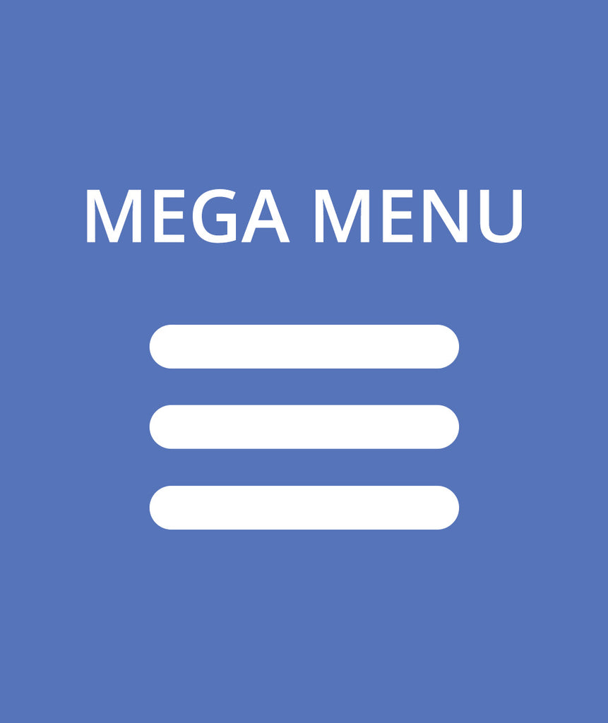 Custom Mega Menu that displays logos and links in columns for MVP Sports