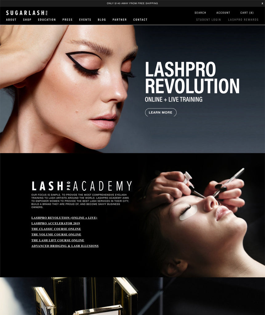 Shopify Plus Case Study: SugarlashPro