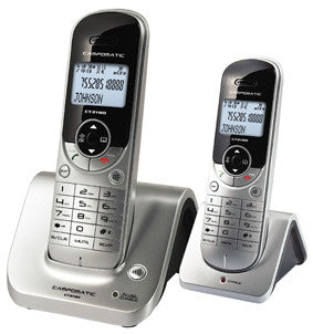 Campomatic Dual Handsets Cordless Phones