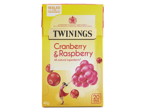 Twinings Cranberry & Raspberry Tea