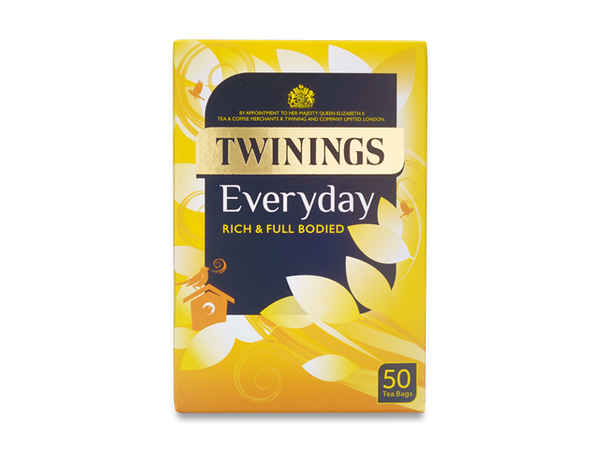 Twinings Everyday Tea 50 Bags (Tagged & Enveloped)
