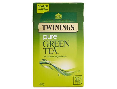 Twinings Pure Green Tea (12 boxes)
