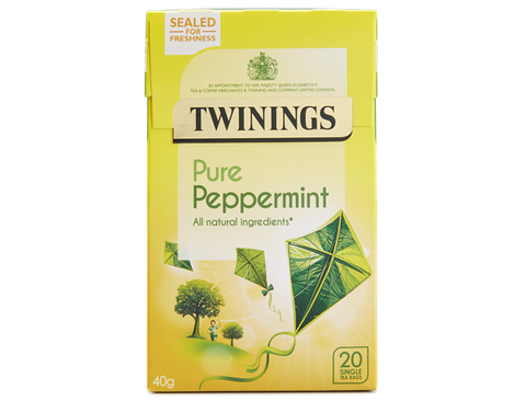 Twinings Pure Peppermint Tea (boxes)