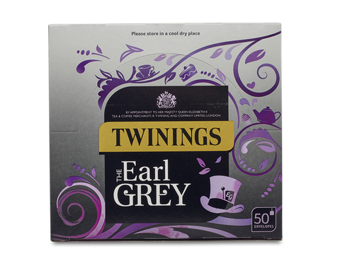 Twinings Earl Grey 50 Bags (Tagged & Enveloped)