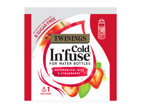 Twinings Cold Infuse (100 bags) - Watermelon Strawberry & Mint