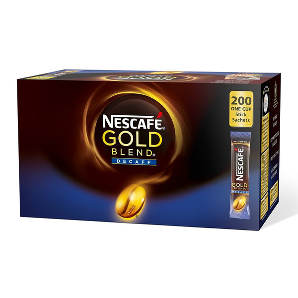 Nescafe Gold Blend Decaf Coffee Sticks