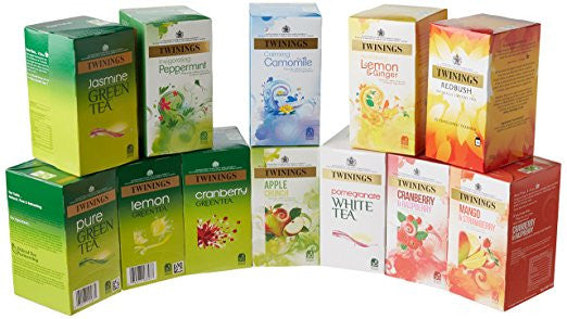 Twinings Herbal Variety Pack Tea (12 boxes)