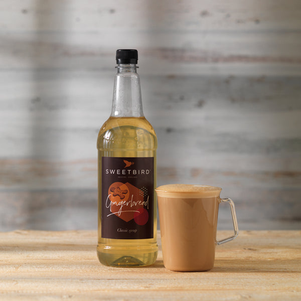 Sweetbird Gingerbread Syrup 1l with free pump