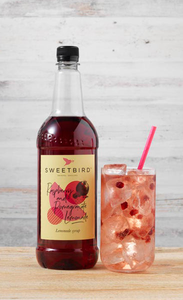Sweetbird Raspberry & Pomegranate Lemonade Syrup