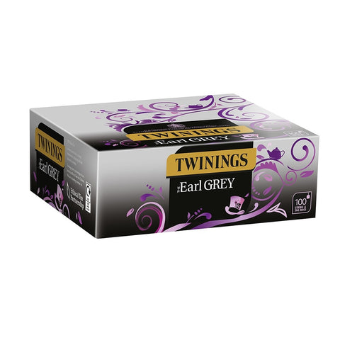 Twinings Earl Grey 100 String & Tag Bags