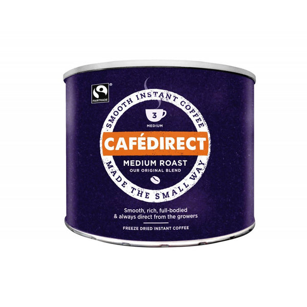 Cafe Direct Medium Roast Fairtrade Coffee Granules