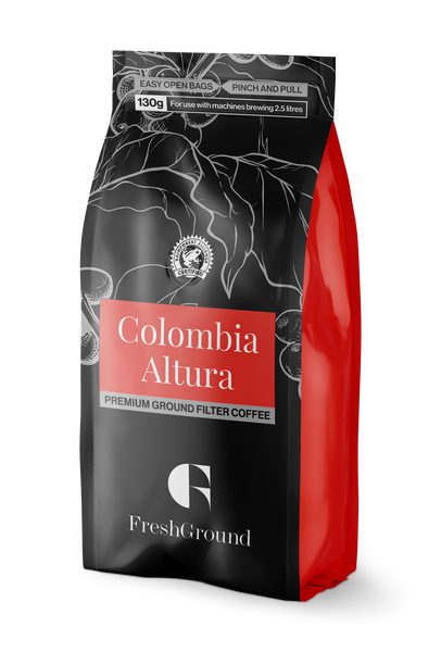 Colombia Altura Premium Filter Coffee 130g or 255g