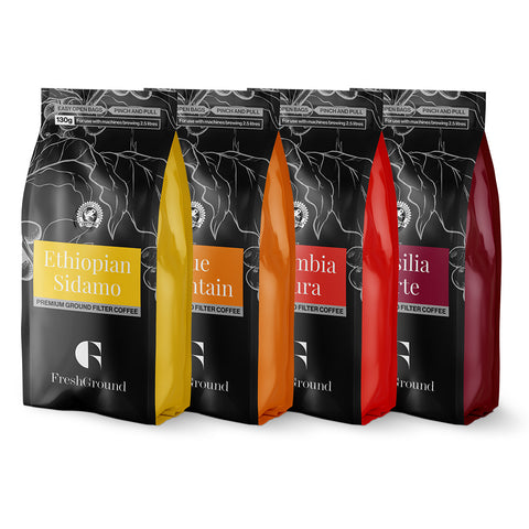 Premium Filter Coffee Selection Pack (36 x 130g)