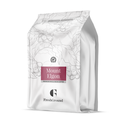 Mount Elgon Premium Whole Bean Coffee 454g
