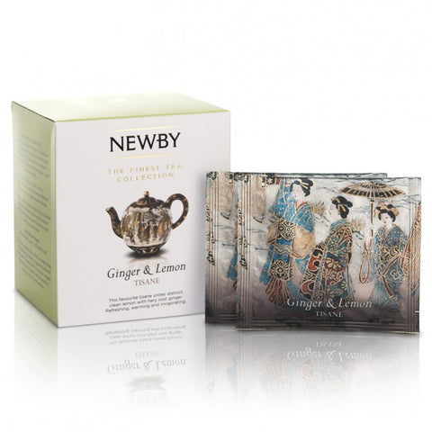 Newby Teas - Ginger and Lemon