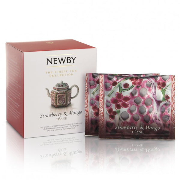 Newby Teas - Strawberry and Mango