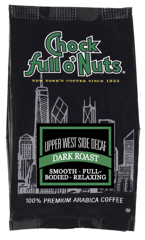 Chock full o' Nuts Upper West Side Decaf - Dark Roast Capsules