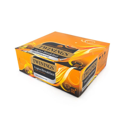 Twinings Traditional English Decaffeinated Tea 100 Bags (String & Tagged)