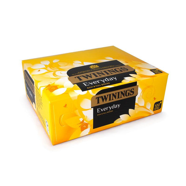 Twinings English Breakfast 100 Bags (String & Tagged)