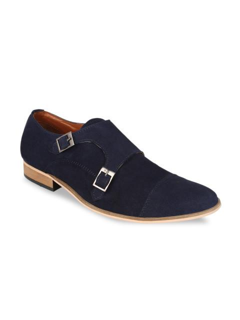 Fastalas Blue Suede Formal Shoes