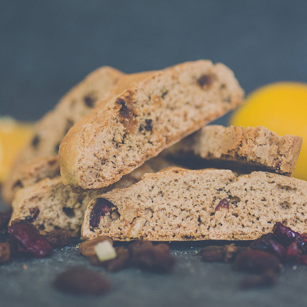 Cracking Christmas Pud Biscotti