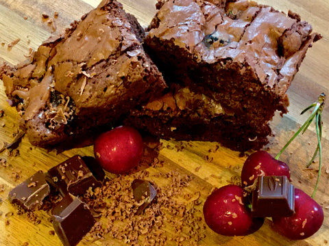 Cherry Brownie (inc DF option)