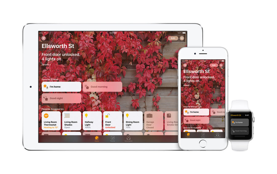 Control your smart home with HomeKit