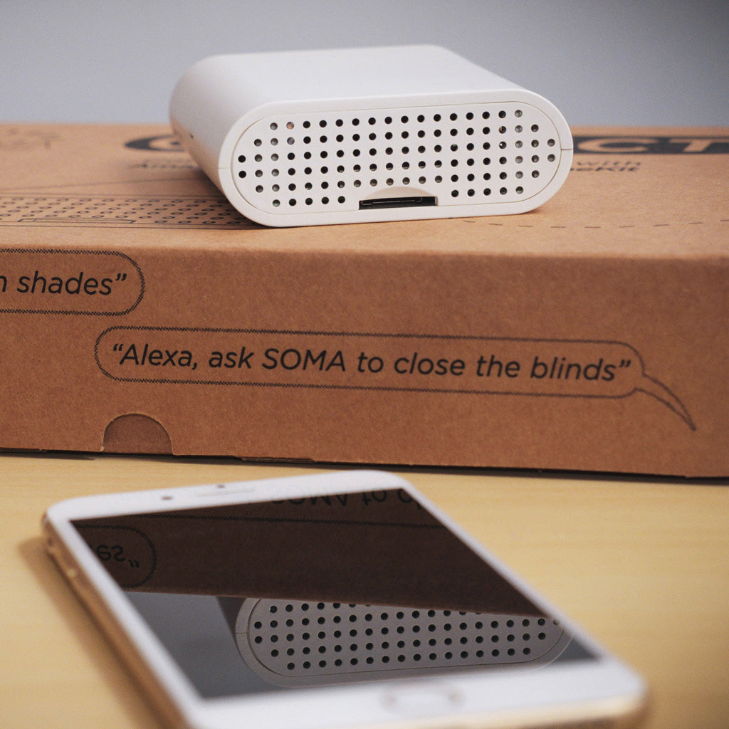 Automate & Motorize Window Blinds and Shades with SOMA Smart Shades