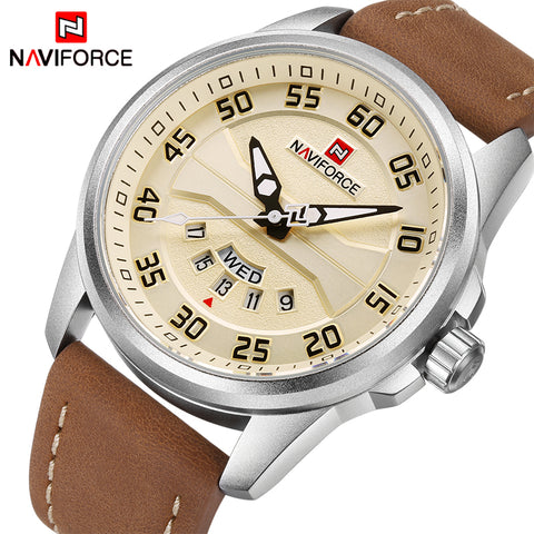 Ceas Naviforce Silver