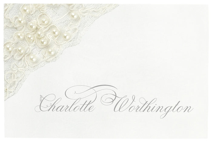 LACE Place Card | Wedding Stationery | CeremonialsUK.com