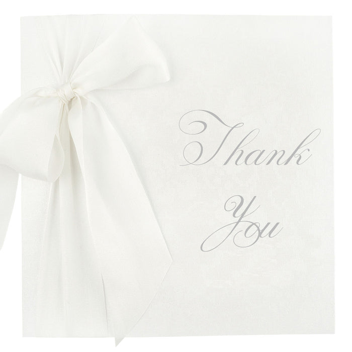 SILK Thank You Card | Wedding Stationery | CeremonialsUK.com