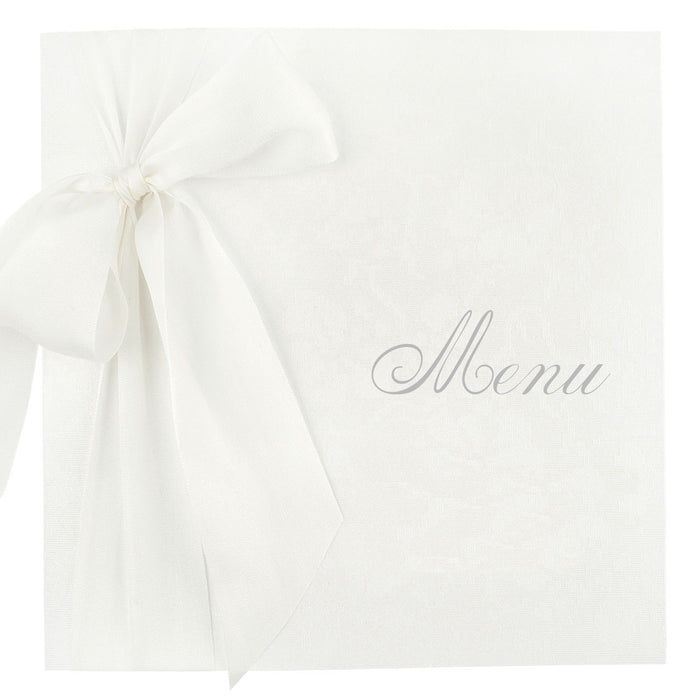 SILK Menu | Wedding Stationery | CeremonialsUK.com