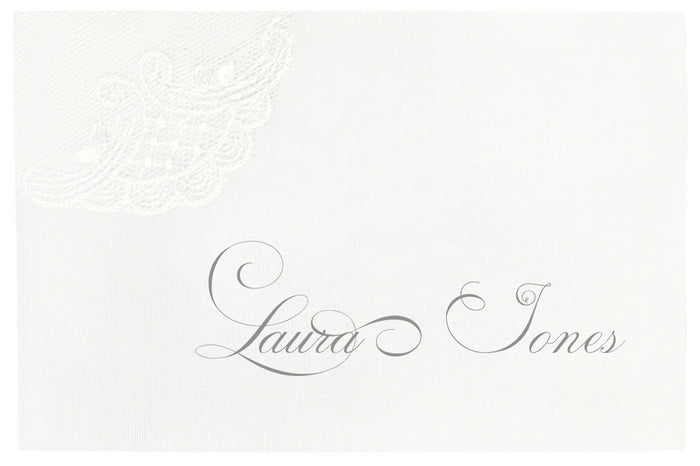 SILK Place Card | Wedding Stationery | CeremonialsUK.com