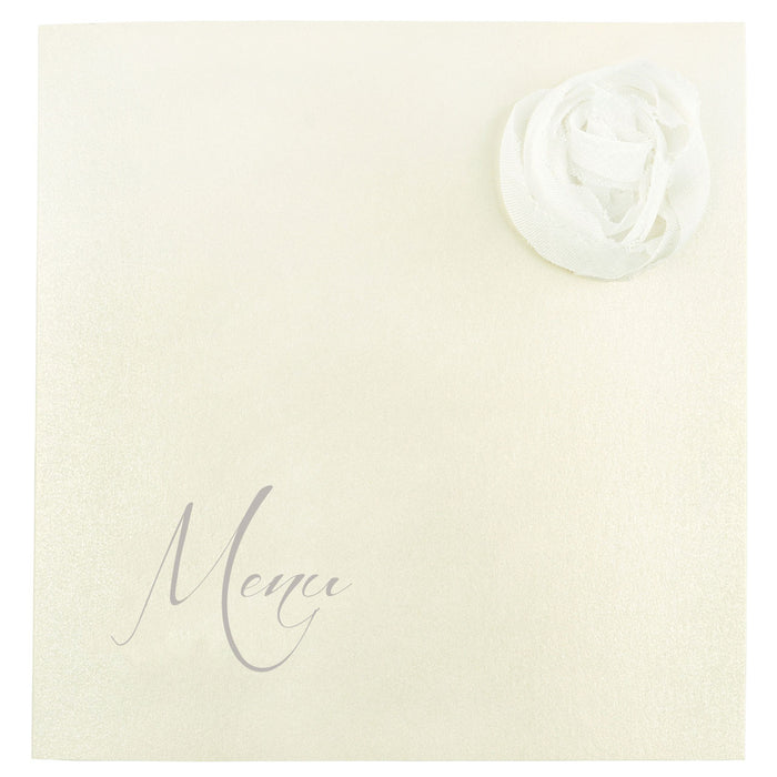 CHAMPAGNE Menu | Wedding Stationery | CeremonialsUK.com