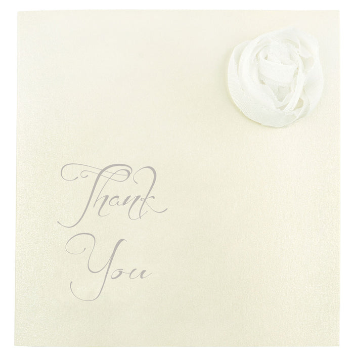 CHAMPAGNE Thank You Card | Wedding Stationery | CeremonialsUK.com