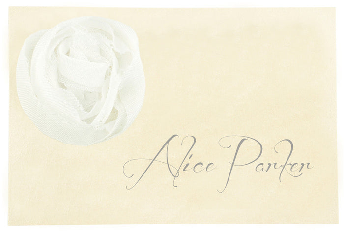 CHAMPAGNE Place Card | Wedding Stationery | CeremonialsUK.com