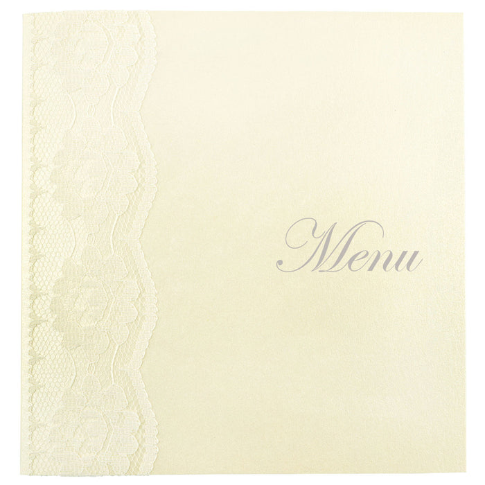 CHANTILLY Menu | Wedding Stationery | CeremonialsUK.com
