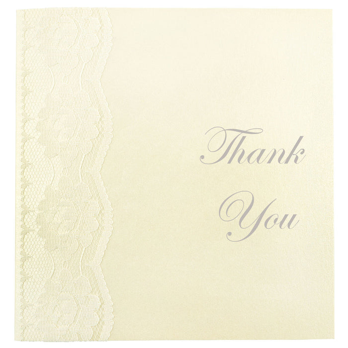 CHANTILLY Thank You Card | Wedding Stationery | CeremonialsUK.com