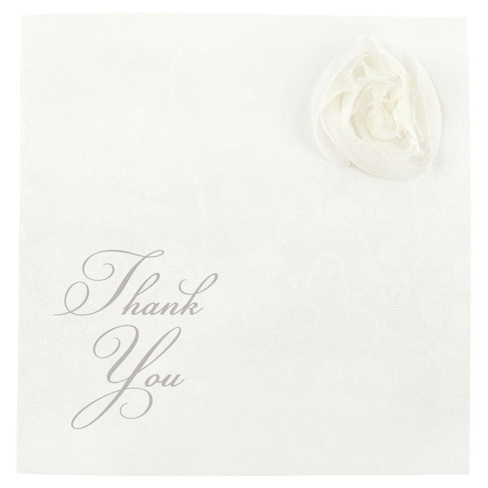 CORSAGE Thank You Card | Wedding Stationery | CeremonialsUK.com