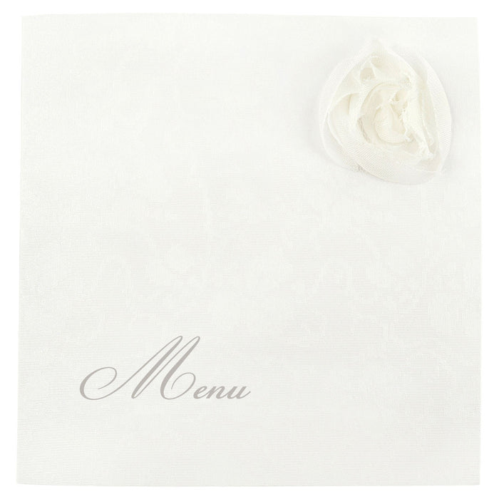 ROSE Menu | Wedding Stationery | CeremonialsUK.com