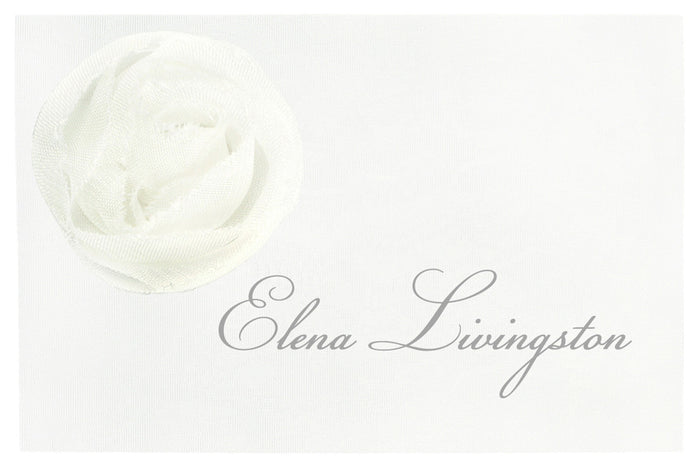 CORSAGE Place Card | Wedding Stationery | CeremonialsUK.com