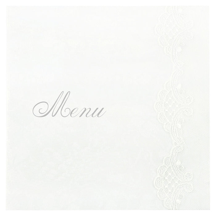 ETHEREAL Menu | Wedding Stationery | CeremonialsUK.com