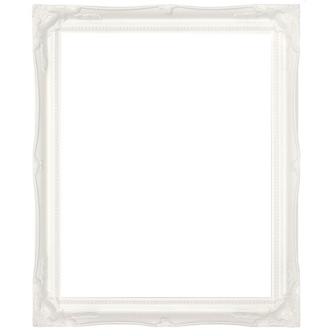 White Swept Frame | Wedding Stationery | CeremonialsUK.com