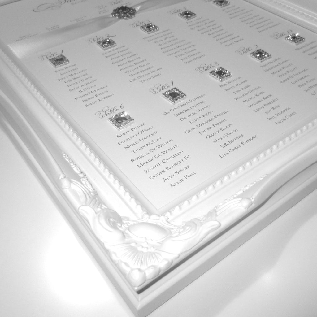 GLOW Table Seating Plan | Wedding Stationery | CeremonialsUK.com